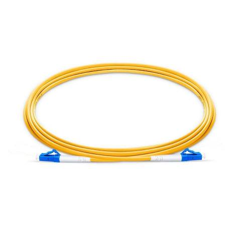 Lc upc lc upc single mode os2 simplex lszh 2mm optical fiber patch cable
