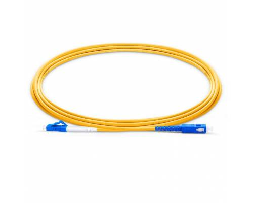 Sc upc lc upc single mode simplex lszh 2mm patch cable or lc pc sc pc sm sx sc lc ofc patch cord
