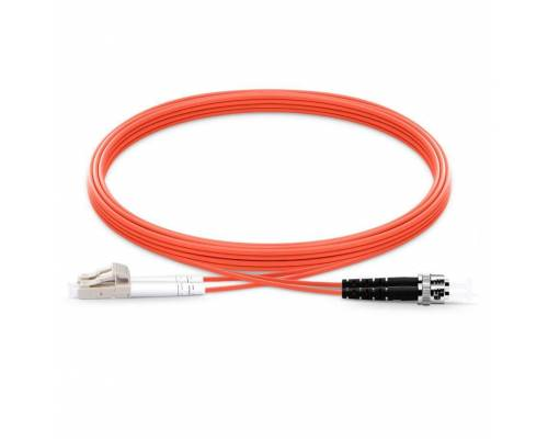 St upc lc upc multimode om1 duplex pvc 2mm patch cable or st pc lc pc mm dx ofc patch cord