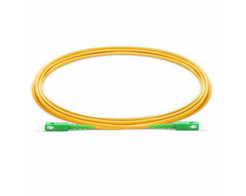 Sc apc sc apc single mode os2 Simplex lszh 2mm optical fiber patch cable