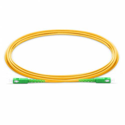 Sc apc sc apc single mode os2 Simplex lszh 2mm optical fiber patch cable