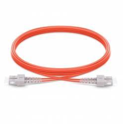 Sc Sc Mm Dx Ofc Patch Cord, Sc Pc Sc Pc Multimode Om1 Duplex Pvc 2Mm Optical Fiber Premium Quality Patch Cable
