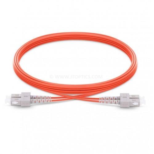 Sc upc sc upc multimode om1 duplex pvc 2mm patch cable or sc pc sc pc mm dx ofc patch cord