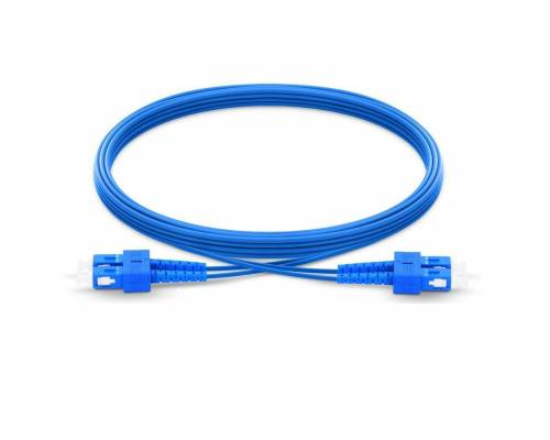 Sc upc sc upc single mode duplex armored patch cable or sc pc sc pc sm dx ofc armored patch cord