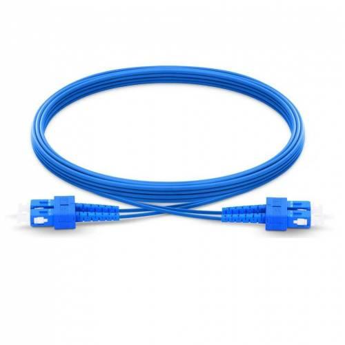 Sc Sc Sm Dx Ofc Patch Cord, Sc Upc Sc Upc Single Mode Duplex Armored Patch Cable JTPCSCPSCPOS2DXPVXXA Patch Cable
