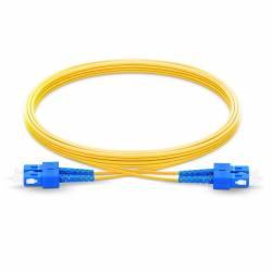 Sc Sc Sm Dx Ofc Patch Cord, Sc Upc Sc Upc Single Mode Os2 Duplex Lszh 2Mm Optical Fiber Premium Quality Patch Cable