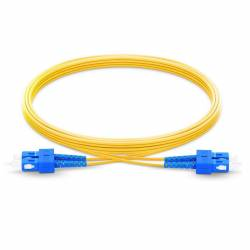Sc upc sc upc single mode os2 duplex lszh 2mm optical fiber patch cable