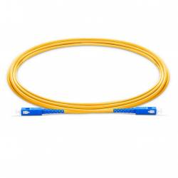 Sc upc sc upc single mode simplex os2 lszh 2mm optical fiber patch cable