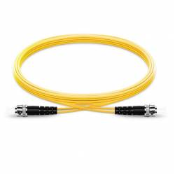 St upc st upc single mode simplex lszh 2mm patch cable or st pc st pc sm sx ofc patch cord