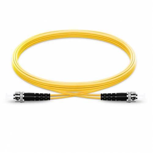 St upc st upc single mode os2 simplex lszh 2mm optical fiber patch cable