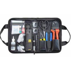 Fiber optic termination tool kit