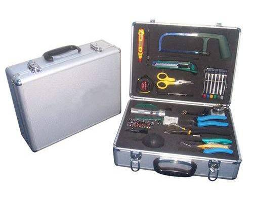 Fiber cable installation tool kit