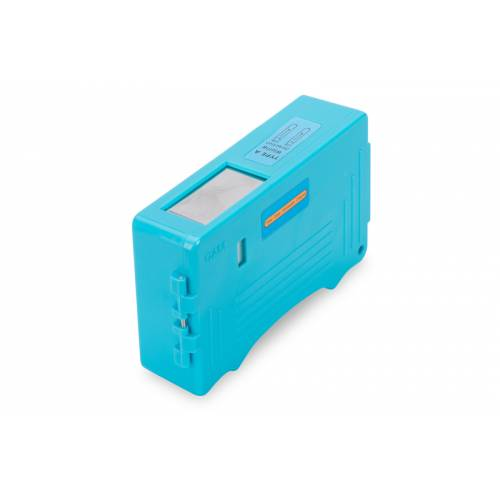 Cassette box fiber connector cleaner