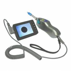 Fiber microscope with display - fis