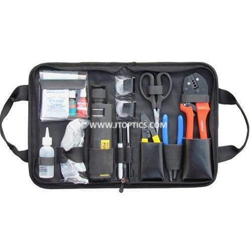Fiber optic termination tool kit